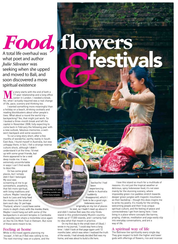 Food, Flowers & Festivals page 1