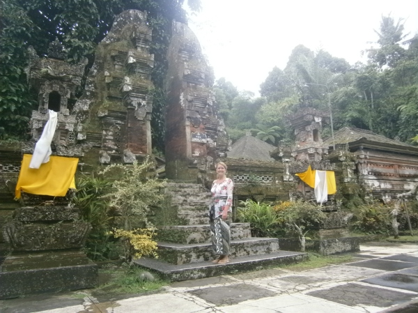 Me at Sebatu Temple