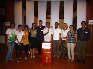 Ubud Toastmasters meeting 28 Sept 2011