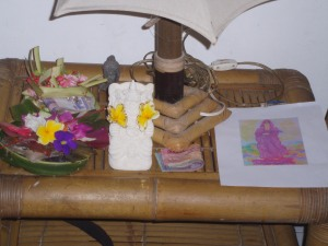 Offerings for Buddha Kliwon