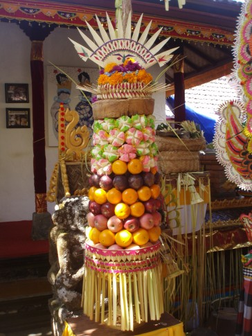 Ceremonial fruit - called Banten