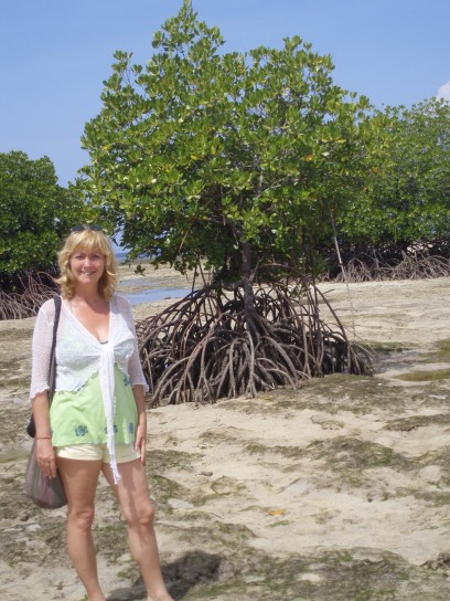 By the mangroves in Nusa Lembongan