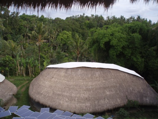 Eco-building from above