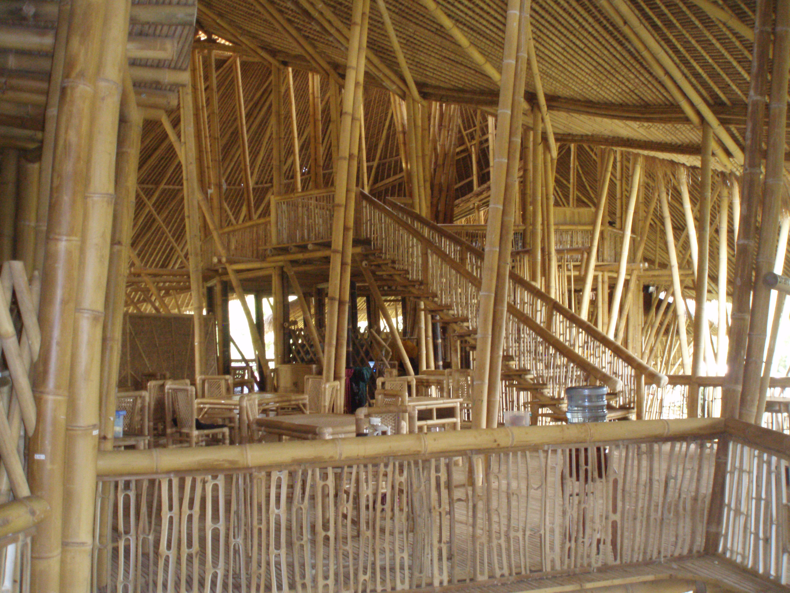 Have You Ever Seen Such An Incredible Bamboo Building