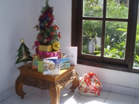 Christmas tree in Bali
