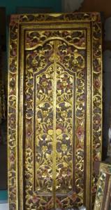 Guest room hand carved wooden doors