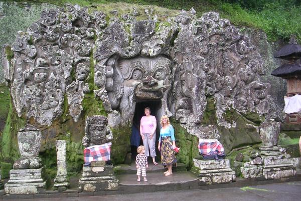 Goa Gajah just outside Ubud