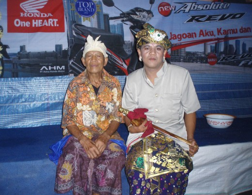 Ketut and his father
