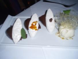Chocolate  Mousse Trio