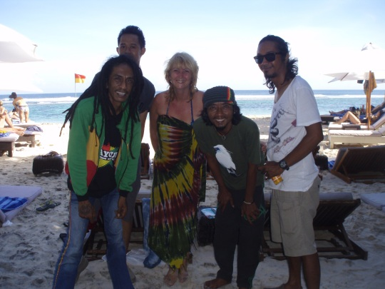 Reggae on the beach