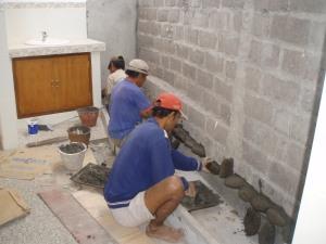Stone walling...