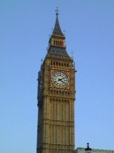Big Ben - the tallest free standing clock tower