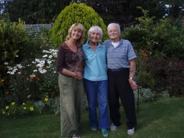 In my parents garden