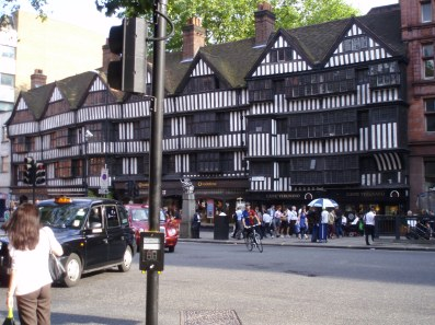 The old Tudor building at Chancery Lane