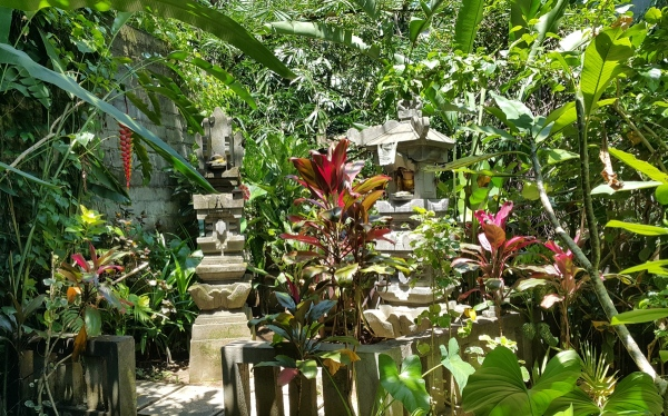 Temples in our garden