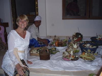 Melaspas ceremony before moving in