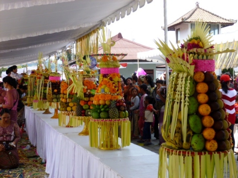 Banten making competition (offerings)