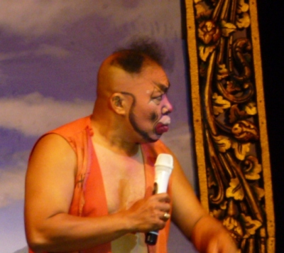 Famous Balinese comedian