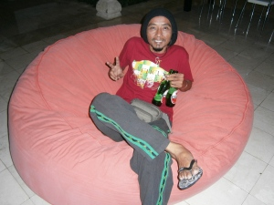 Now that's what I call a bean bag