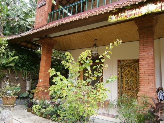 Rumah Jepun from the garden