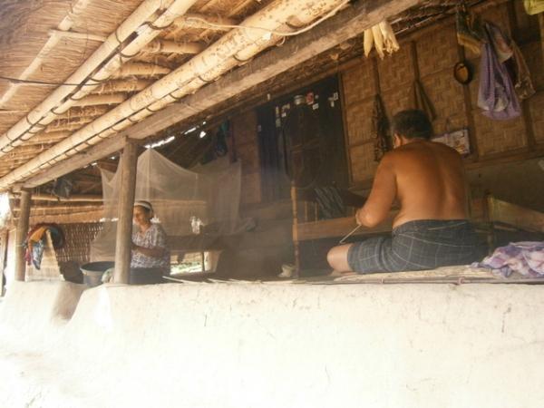 Balcony of a Sasak home