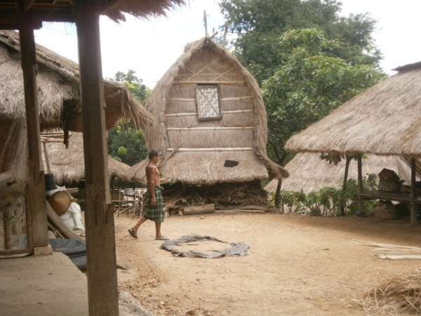 Lumbung - Rice barn