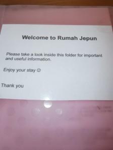 Rumah Jepun information pack