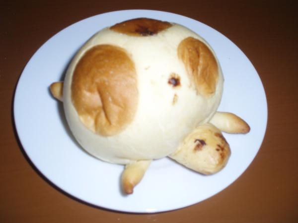 An odd shaped roll