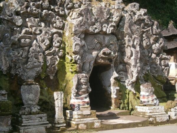 Goa Gajah - elephant cave