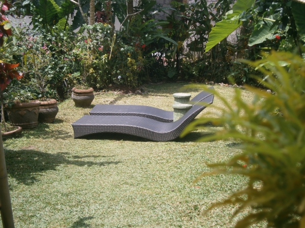 For lazing in the Bali sunshine
