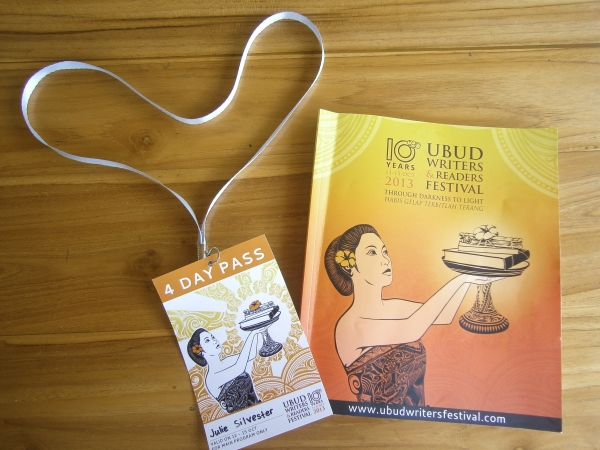 Ubud Writers & Readers Festival - programme and ticket