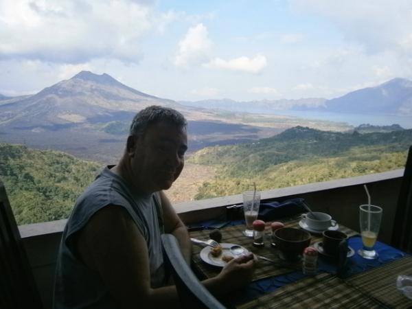 Spectacular volcanic scenery