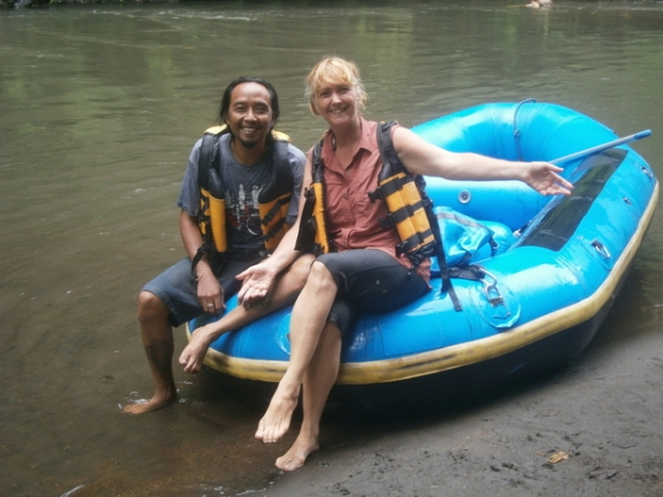 Hmmm, maybe Yaniq will be inspired to write a song about rafting