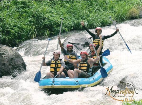 Rafting with Yaniq, Vince and Andy