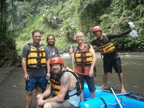 Our great rafting adventure