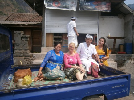 Travelling - the Balinese way