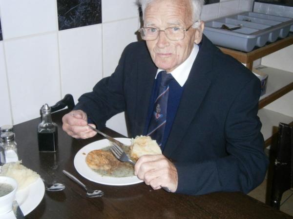 Harry Edward John Silvester, my Dad