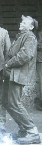 Dad as a young man working in the London docks